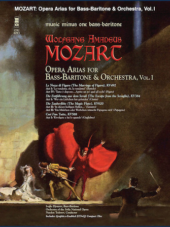Mozart Opera Arias for Bass Baritone and Orchestra – Vol. I