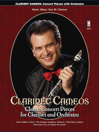 Product Cover for Clarinet Cameos – Classic Concert Pieces for Clarinet and Orchestra