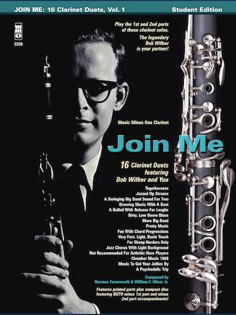 Bob Wilbur – Join Me: 16 Clarinet Duets