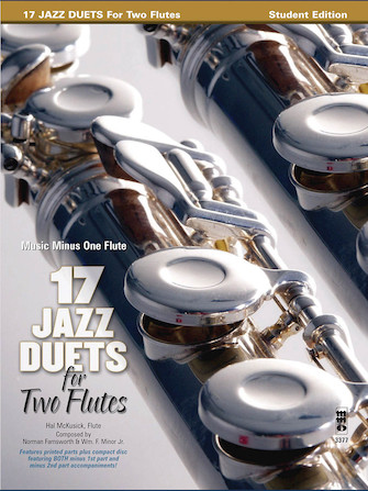 Product Cover for 17 Jazz Duets for Two Flutes