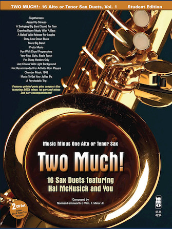 Product Cover for Two Much! 16 Duets for Saxophone