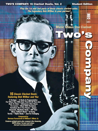 Product Cover for Bob Wilbur – Two's Company: 16 Clarinet Duets