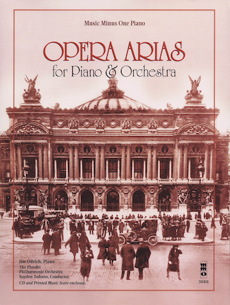 Product Cover for Opera Arias for Piano & Orchestra
