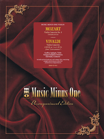Mozart – Violin Concerto No. 4 in D Major, KV218 & Vivaldi – Concerto in A Minor, Op. 3 No. 6