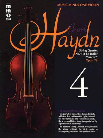"""Product Cover for Haydn – String Quartet No. 4 in B-flat Major, """"Sunrise,"""" Op. 76"""