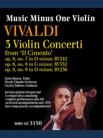 Product Cover for Vivaldi – 3 Violin Concerti from 'Il Cimento,' Op. 8, Nos. 7, 8, 9