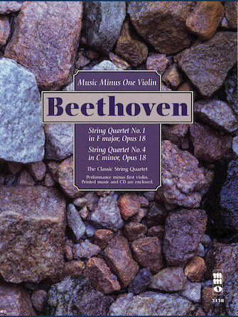Beethoven – String Quartets, Op. 18: No. 1 in F Major & No. 4 in C Minor