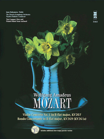 Mozart – Violin Concerto No. 1 in B-flat Major, KV207 & Rondo Concertant in B-flat Major, KV269