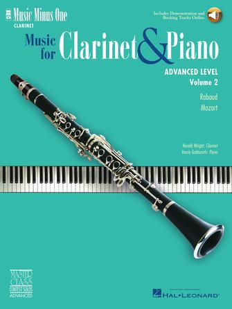 Product Cover for Advanced Clarinet Solos – Volume 2