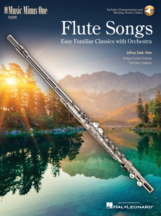 Product Cover for Flute Songs – Easy Familiar Classics with Orchestra