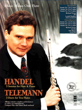 Product Cover for Handel – Sonatas for Flute & Piano; Telemann – 3 Duets for Two Flutes