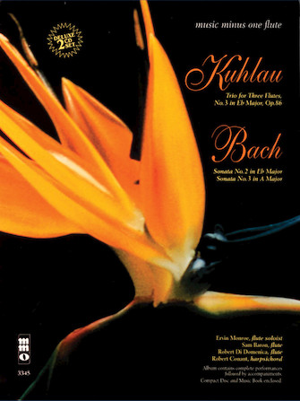 Kuhlau – Trio for Three Flutes; Bach – Sonatas in E-flat and A Major