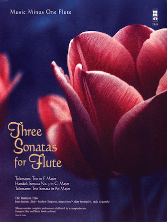 Product Cover for Three Sonatas for Flute
