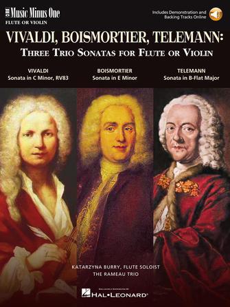 Product Cover for 3 Trio Sonatas: Vivaldi, Boismorter and Telemann