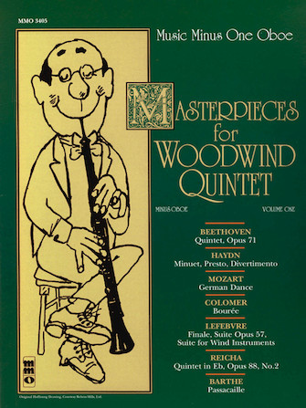 Masterpices for Woodwind Quintet – Volume One