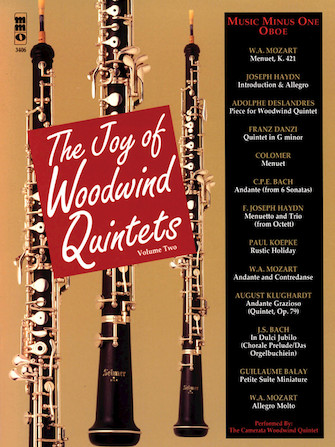 The Joy of Woodwind Quintets – Volume Two