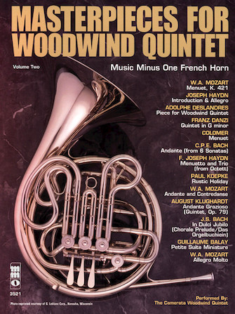 Masterpieces for Woodwind Quintet – Volume Two