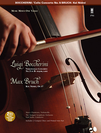 Product Cover for Boccherini – Violoncello Concerto No. 9 in B-flat Major, G482 & Bruch – Kol Nidrei, Op. 47