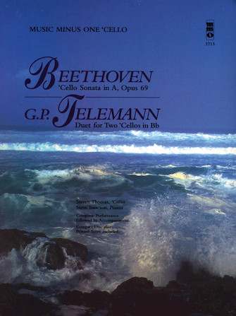Product Cover for Beethoven – Cello Sonata in A, Op. 69; Telemann – Duet for Two Cellos in Bb