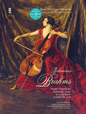 Product Cover for Brahms – Double Concerto for Violoncello, Violin & Orchestra in A minor, Op. 102