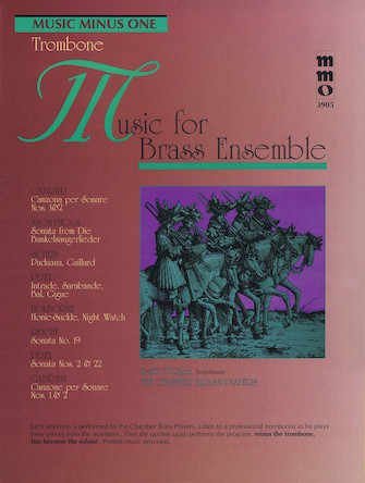 Music for Brass Ensemble – Trombone