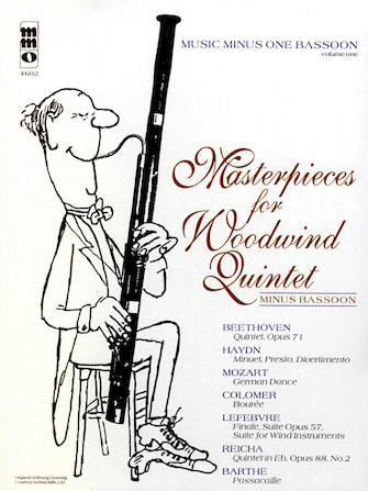 Masterpieces for Woodwind Quintet – Volume 1