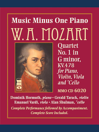 Mozart – Quartet No. 1 in G Minor, KV478