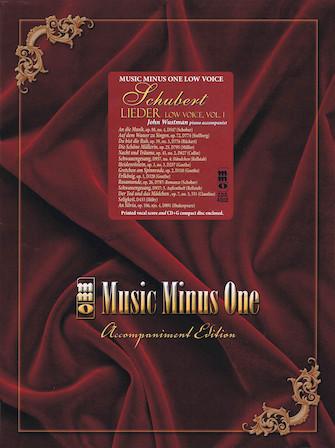 Schubert – German Lieder, Low Voice, Volume I
