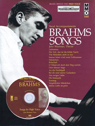 Brahms Songs – Vocal Accompaniments
