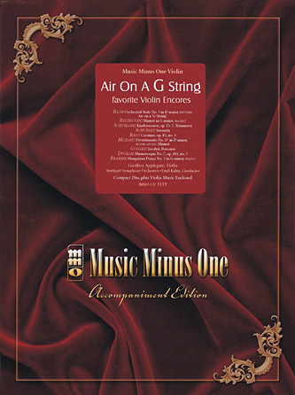 Air On a G String: Favorite Violin Encores