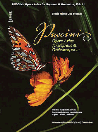 Puccini Arias for Soprano with Orchestra – Volume III