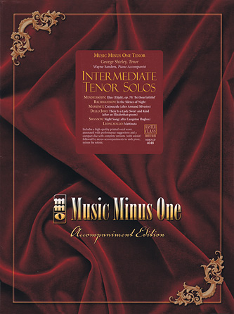 Product Cover for Intermediate Tenor Solos