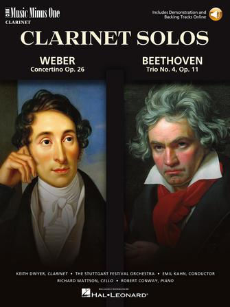 Weber – Concertino Op. 26 & Beethoven – Trio for Piano, Cello & Clarinet, Op. 11