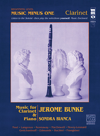 Beginning Clarinet Solos – Volume 1