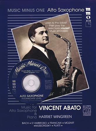 Intermediate Alto Sax Solos – Volume 2 (Vincent Abato)