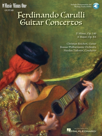 Carulli – Two Guitar Concerti (E Minor Op. 140 and A Major Op. 8a)