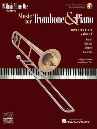Music for Trombone & Piano – Advanced Level Volume 1