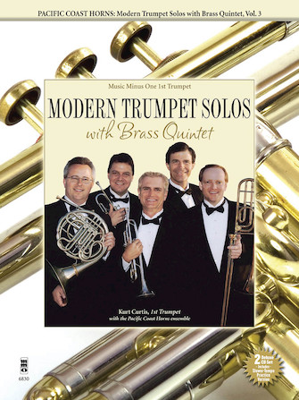 Pacific Coast Horns – Modern Trumpet Solos with Brass Quintet, Vol. 3
