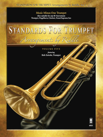 Arrangements by Riddle – Standards for Trumpet, Volume 5