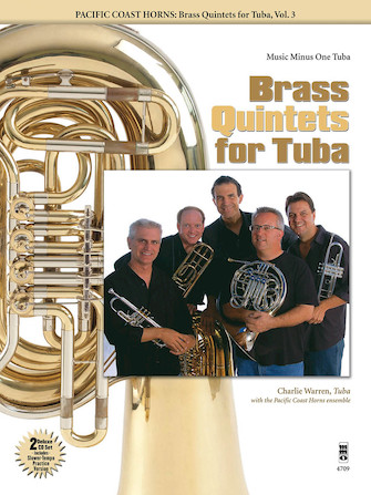 Pacific Coast Horns – Brass Quintets for Tuba, Vol. 3