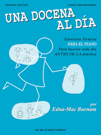 Product Cover for A Dozen a Day Preparatory Book – Spanish Edition
