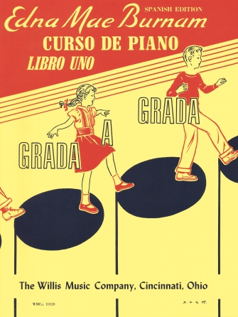 Product Cover for Step by Step Piano Course – Book 1 – Spanish Edition