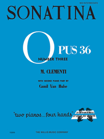 Product Cover for Sonatina Op. 36, No. 3