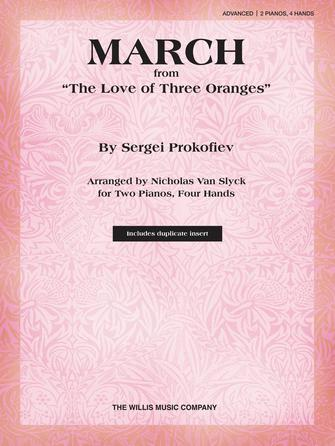 "Product Cover for March from ""The Love of Three Oranges"""