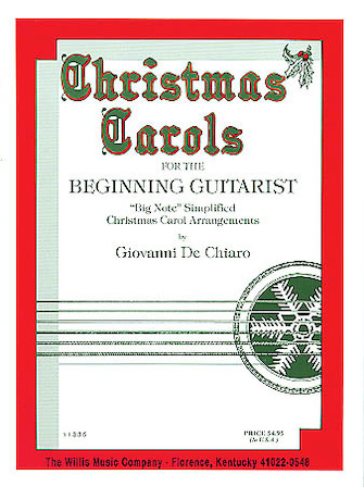 Product Cover for Christmas Carols for the Beginning Guitarist