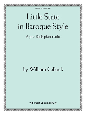 Product Cover for Little Suite in Baroque Style