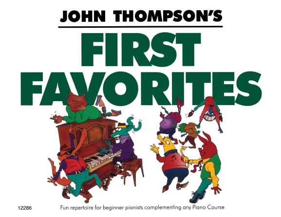 Product Cover for John Thompson's First Favorites