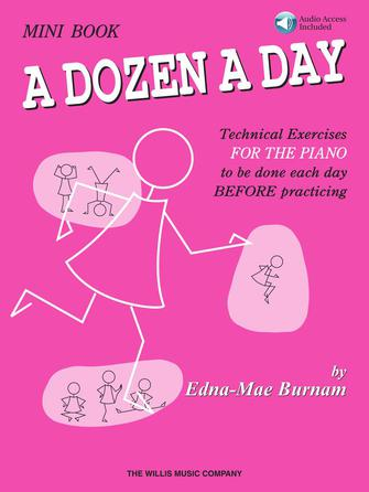 Product Cover for A Dozen a Day Mini Book – Book/Audio