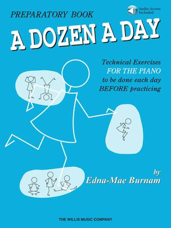 Product Cover for A Dozen a Day Preparatory Book – Book/Audio