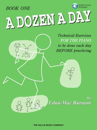 Product Cover for A Dozen a Day Book 1 – Book/Audio